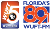 WUFT combined logo